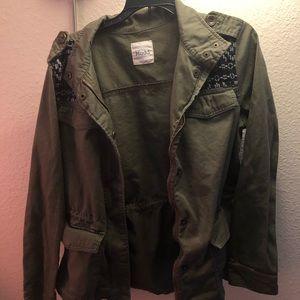 Army jacket with a twist
